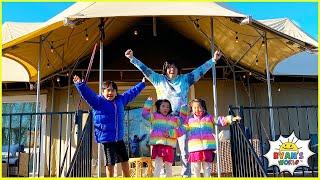 Ryan's Family Fun Camping Trip Adventure!