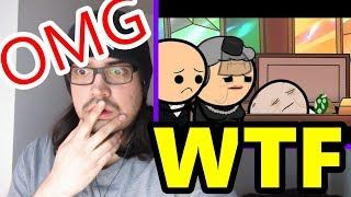 Pothead Trips 2 The Funeral - Cyanide & Happiness Shorts (ExplosmEntertainment) LIVE