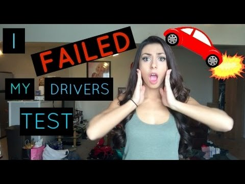 Story Time I Failed My Drivers Test Twice Tips To Help Pass Your Test