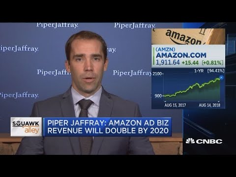 Piper Jaffray: Amazon ad business revenue will double by 2020