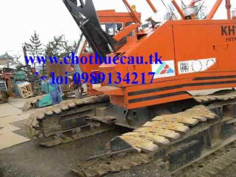Bán và cho thuê cần cẩu bánh xích 35 tấn - Hitachi KH125-3(LH 0989 134 217)