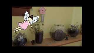 ✿ Diy Fairy Garden Terrarium! ✿