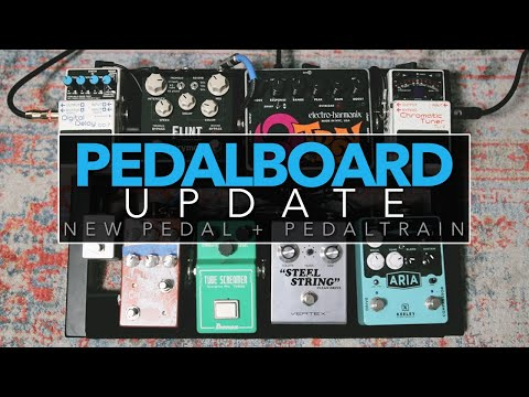Trying the Steel String Clean Drive + NEW Pedaltrain Setup [Pedalboard Update]