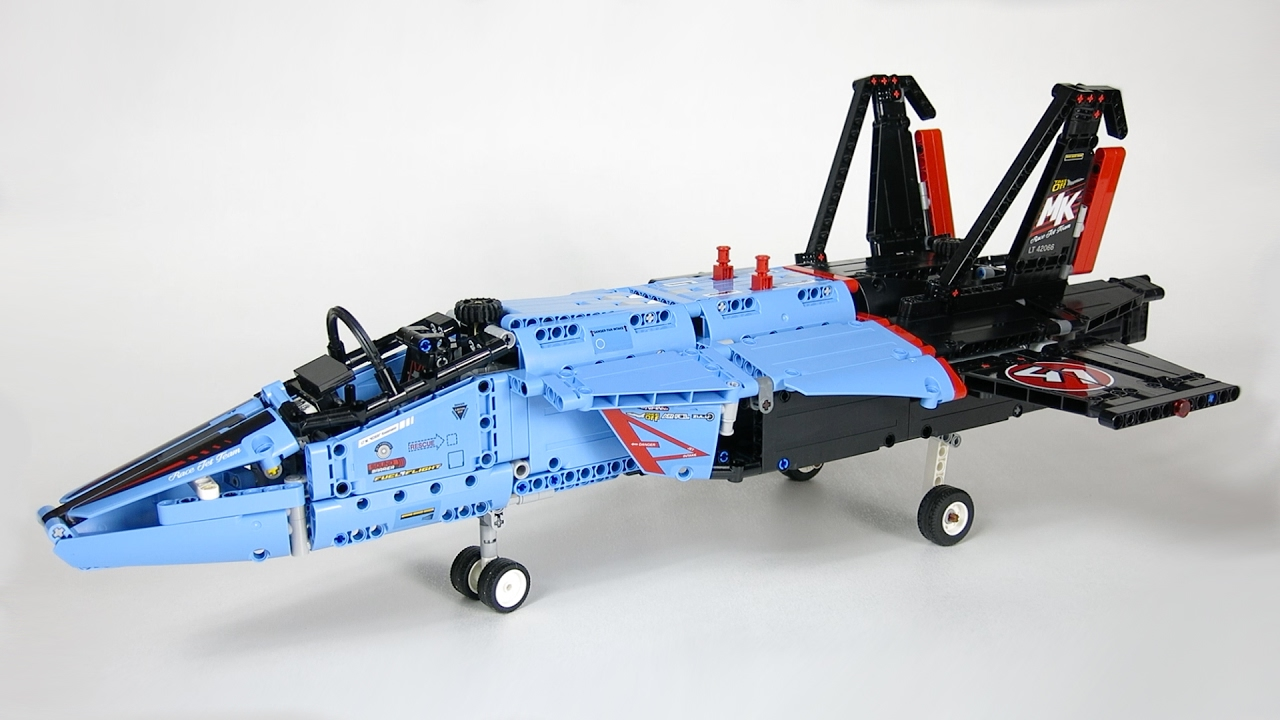 lego technic 42066 air race jet demo youtube. Black Bedroom Furniture Sets. Home Design Ideas