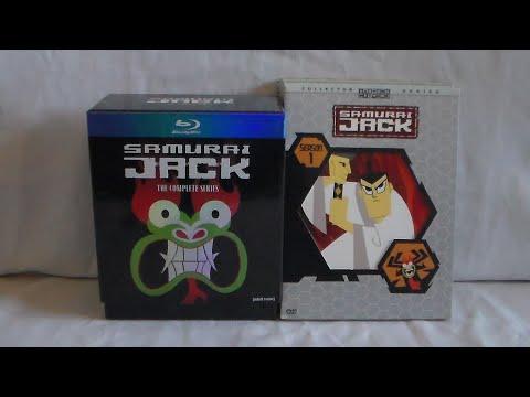 Unboxing Samurai Jack Complete Series