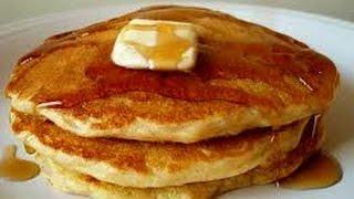 Sunday Morning Hobo Stove Cornmeal Pancakes Syrup & More