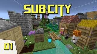 Minecraft - Sub City - #01