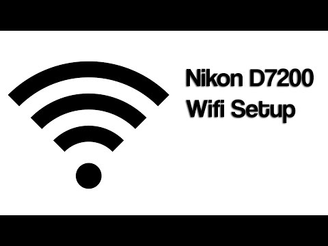 Nikon Wifi Setup (NFC) Using D7200