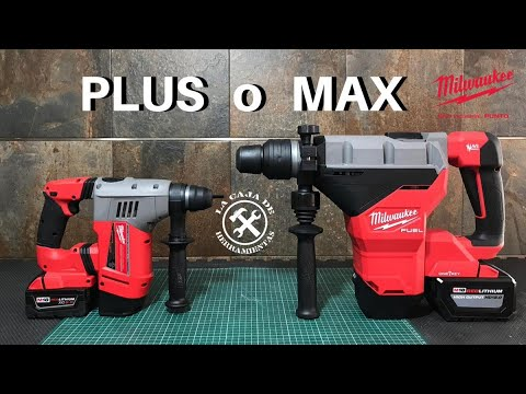 SDS PLUS o MAX ¿Cuál me conviene mas?