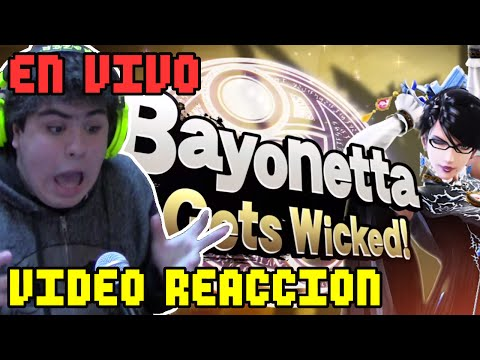 MrB - BAYONETTA EN SMASH!! | Smash Direct, reacción en vivo