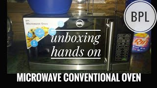 BPL || Convection Microwave Oven || UNBOXING || firstlooks || 20 L ( Amazon)