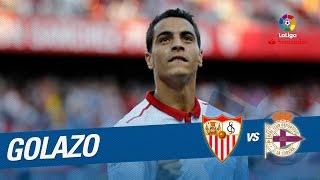 Golazo de Ben Yedder (4-2) Sevilla FC vs Deportivo de la Coruña