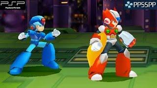 Mega Man Maverick Hunter X - PSP Gameplay 1080p (PPSSPP)
