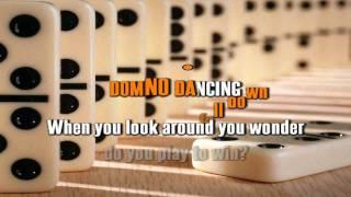 PET SHOP BOYS - DOMINO DANCING karaoke instrumental lyrics