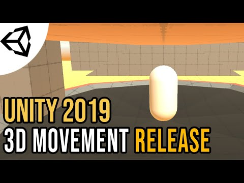 Free movement code for your 3D Games [Source][Unity 2019] thumbnail