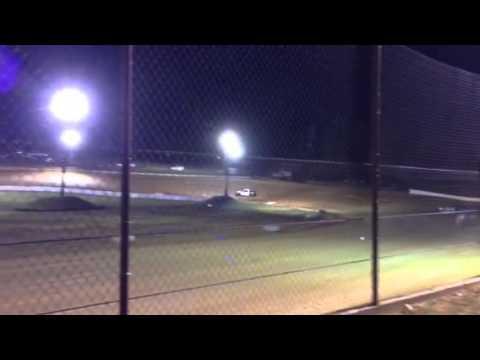 West Siloam Speedway fwd heat (8-29-14)
