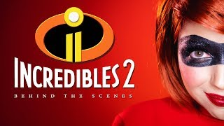 Incredibles 2 Makeup: BEHIND THE SCENES!