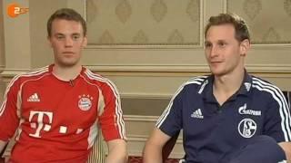 Neuer und Höwedes: Zwei Freunde in der Wüste (ZDF-Interview in voller Länge)