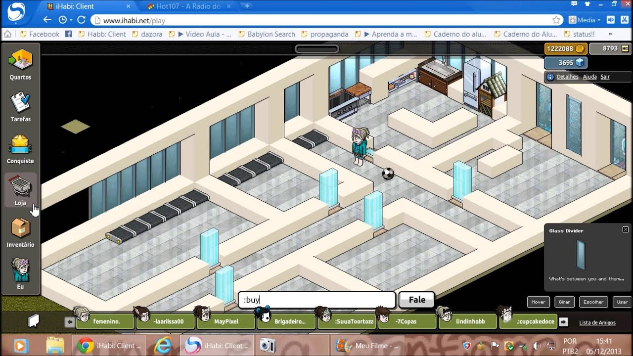 Casas Habblet ~ Construç u00e3o Habbo Casa Moderna YouTube