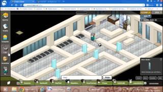 Construção Habbo - Casa Moderna