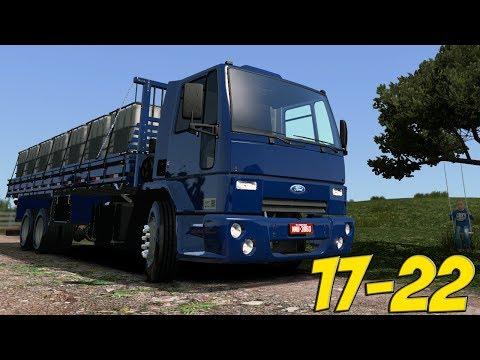 FORD CARGO 17-22 - FAZENDA NOVA NO MAPA - ETS 2 MODS BR - G27