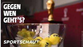 Live: Die Auslosung der europäischen Qualifikationsgruppen für die WM 2022   Sportschau