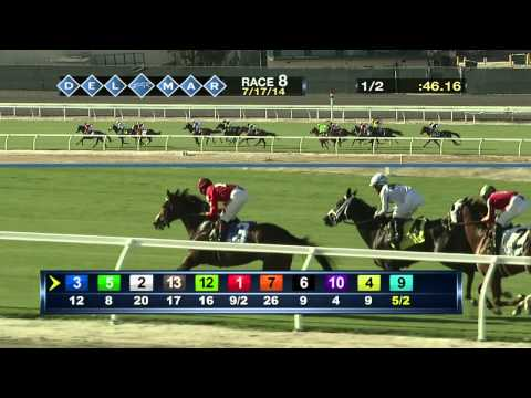 Del Mar Oceanside Stakes RACE #8 7-17-2014 ***OPENING DAY***