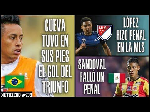 CHRISTIAN CUEVA NO PUDO DARLE VICTORIA A SANTOS | MARCOS LOPEZ HIZO PENAL EN MLS |RAY SANDOVAL FALLÓ