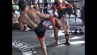 Kru Nong (Talayhod) training for BBQ Beatdown 121