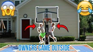 DRIVE BY DUNK CHALLENGE!