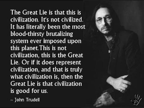 John Trudell - Power, Authority and Tribal Genocide