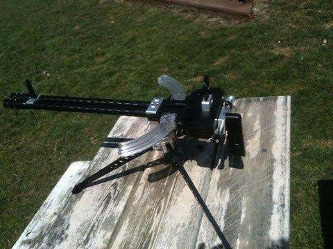 Ruger 10 22 Gattling Crank Gun Kit Test Youtube
