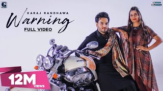 Gambar cover Warning : Karaj Randhawa & Gurlez Akhtar (Official Video) Punjabi Songs | GK DIGITAL | Geet MP3