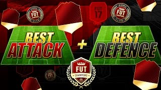 FIFA 17 FUTCHAMPIONS - BEST ATTACK + BEST DEFENCE FORMATION - BEST INSTRUCTIONS + TACTICS TUTORIAL !