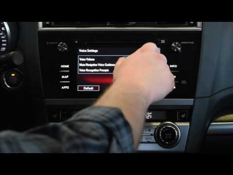 2017 Subaru General Settings | Help & Tutorial | Infotainment Center