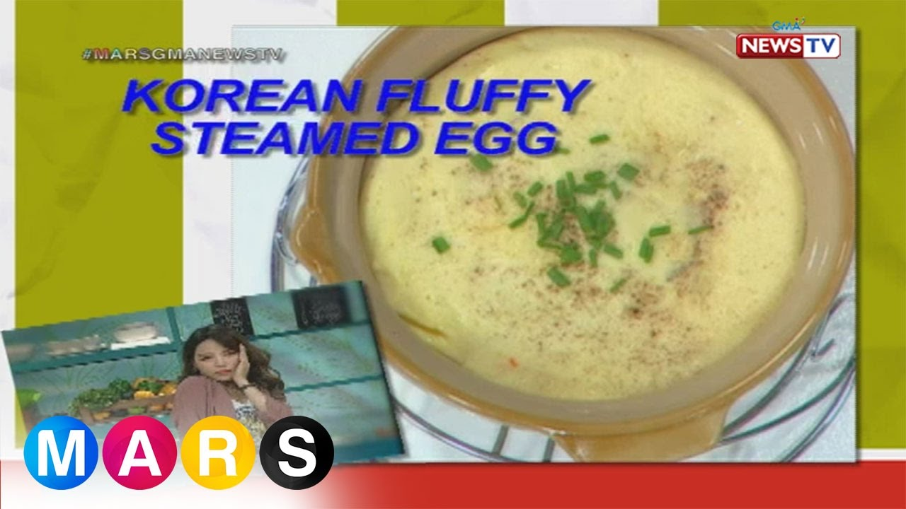 Mars Masarap Korean Fluffy Steamed Egg By Dasuri Choi