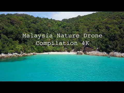 Malaysia Nature Drone Travel Compilation