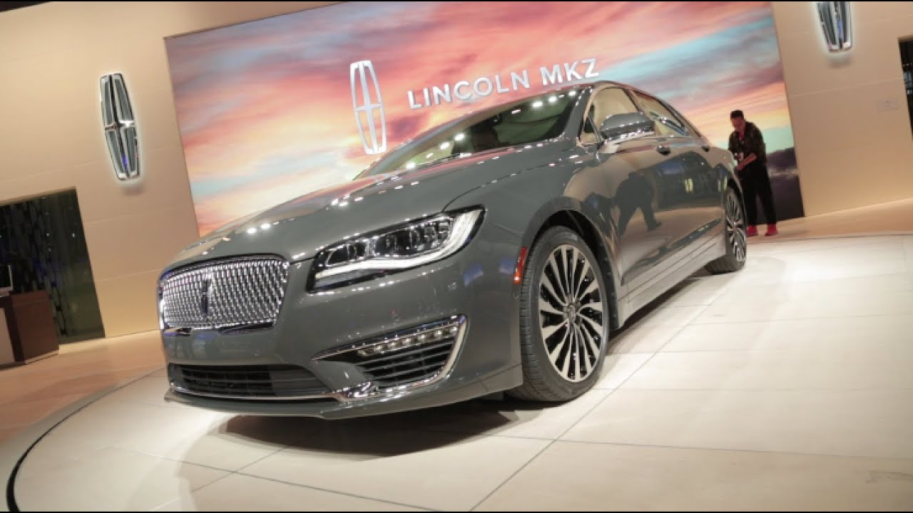 Lincoln MKZ First Look LA Auto Show YouTube - Lincoln car show