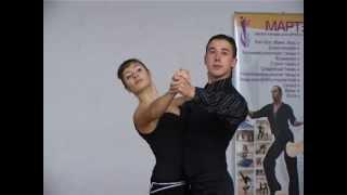 Учимся танцевать танго. www.evrikafilm.ru(Мастер-класс преподавателей школы-студии