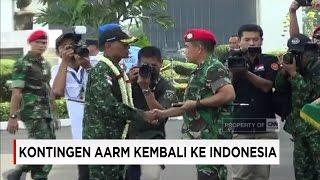 Jadi Juara Umum di Filipina, Kontingen AARM TNI Kembali ke Indonesia