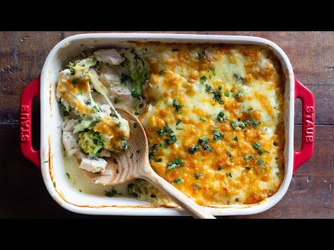 Chicken and Rice Casserole | Bake it all at the same time