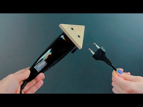 DIY sanding tool from a trimmer