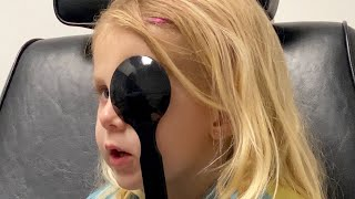 Good News at EB's eye exam for Arthritis