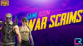 [HIND] GAME ROOM WAR I PUBG MOBILE PRACTICE MATCHES I POWERED BY GAME ROOM