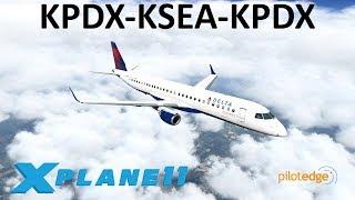 X-Plane 11 | 26K SUB Celebration + E195!?! | E195 | PilotEdge | Day in the life of an E-Jet Pilot!!