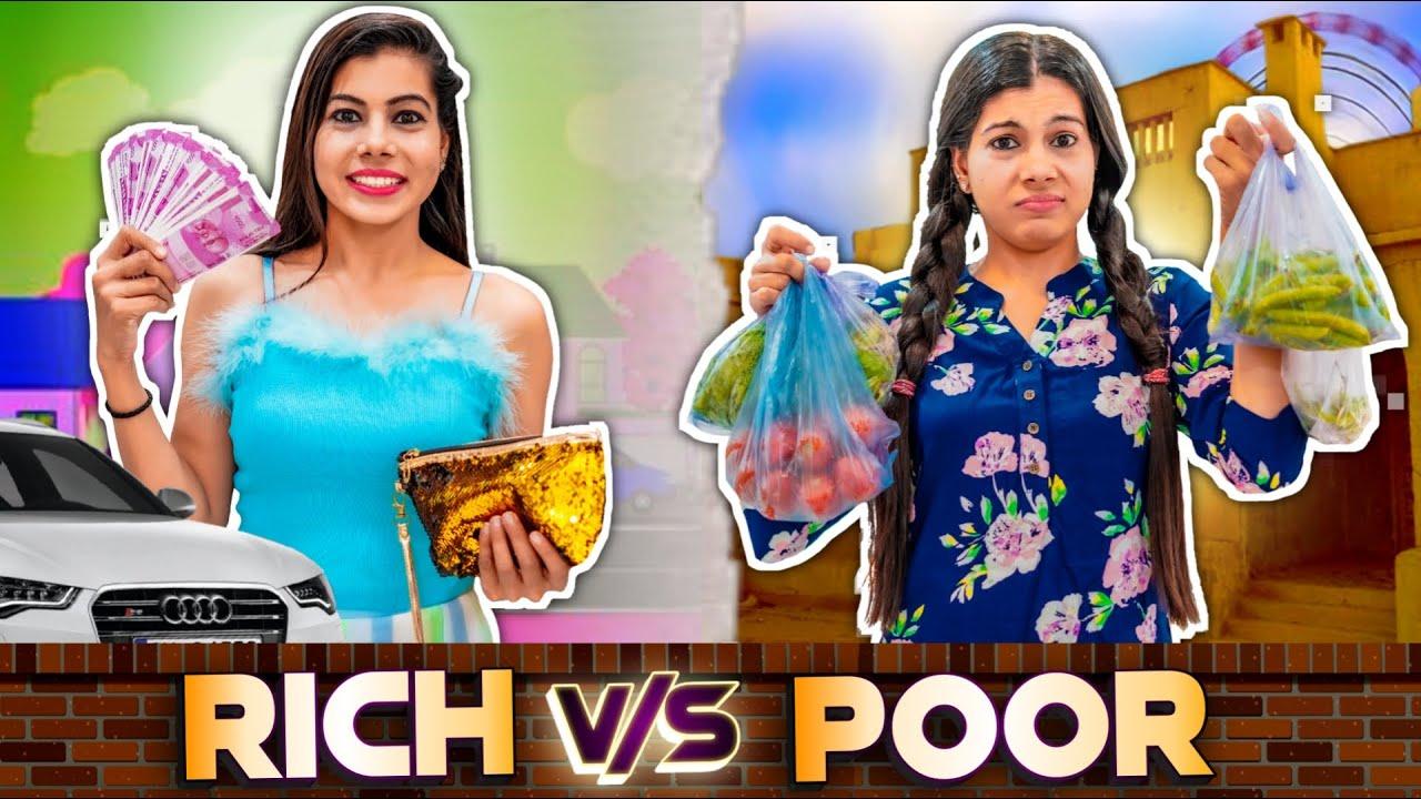 Rich vs Normal | Sanjhalika Vlog