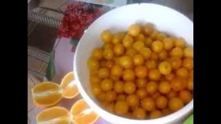 """Живое варенье""Алыча+Апельсин=Фанта\""Live Jam"" plum +  Orange =Fanta"