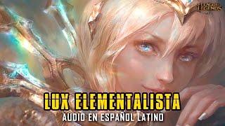 Lux Elementalista | Voz latina [League of Legends]