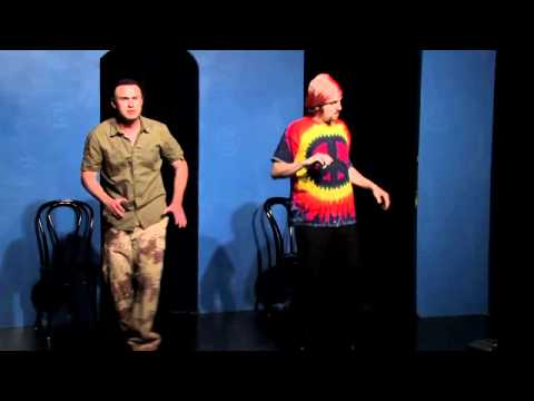 Hippies Invade the Israeli Border Comedy Sketch
