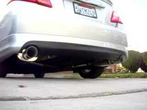 07 Camry Se V6 Custom Magnaflow Exhaust Youtube